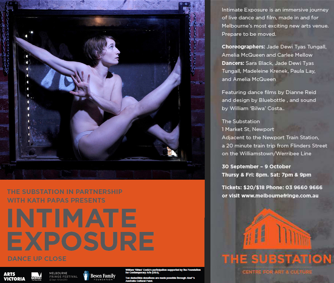 Intimate Exposure Flyer